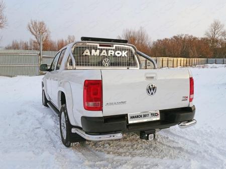 Volkswagen Amarok 2016- Защита задняя (уголки) 76,1 мм